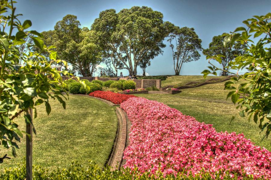 Michael Joseph Savage memorial gardens, New Zealand
