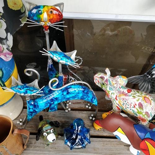 Kawkawa quirky gift shop interior, New Zealand
