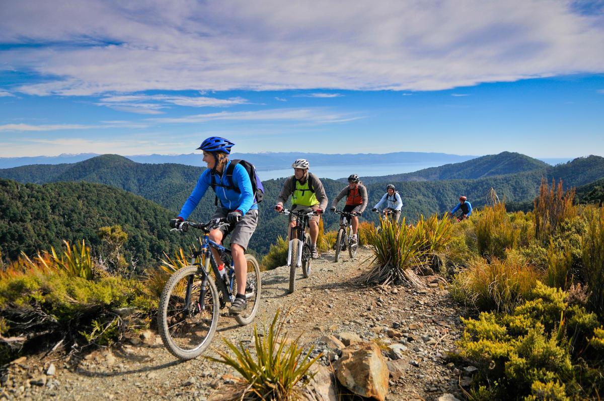 Abel Tasman Mounting Biking, New Zealand @Grant Stirling