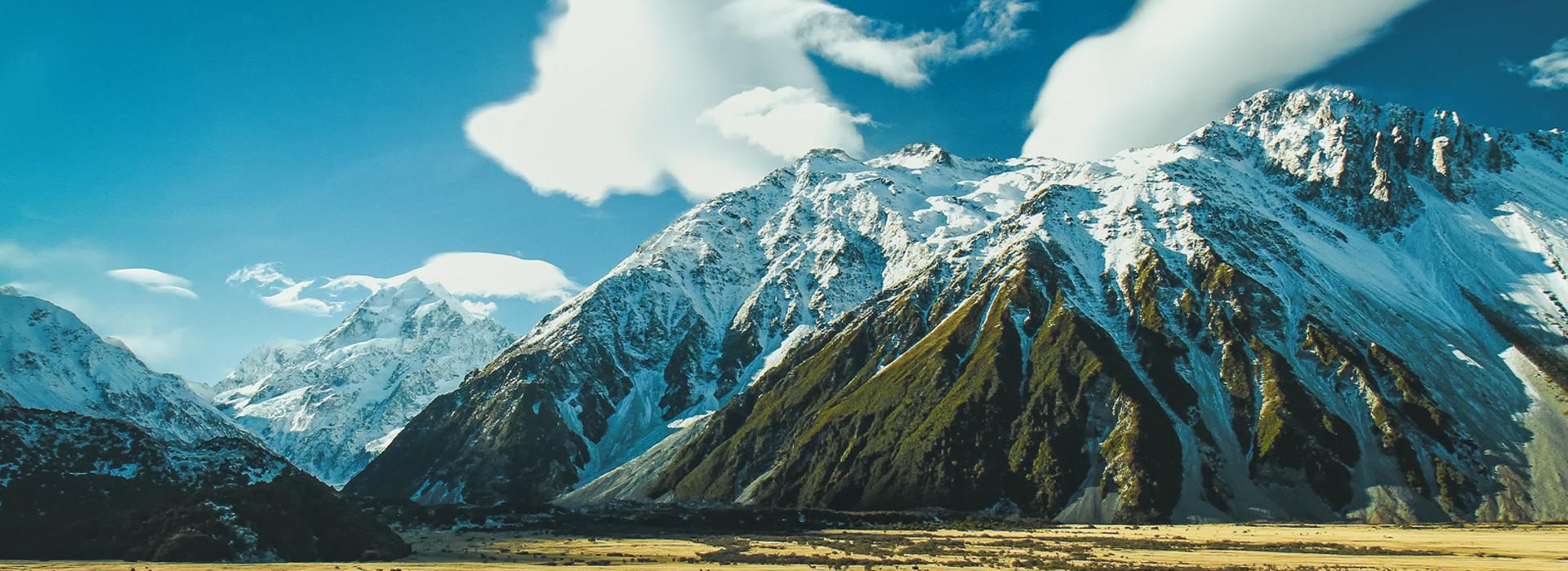 Aoraki-Mt. Cook National Park.jpg, New Zealand @Wikimedia Commons