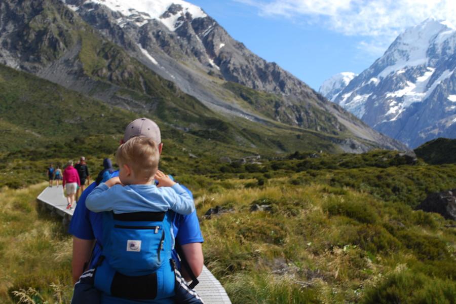 Aoraki family walks, New Zealand @Backyard Travel Family