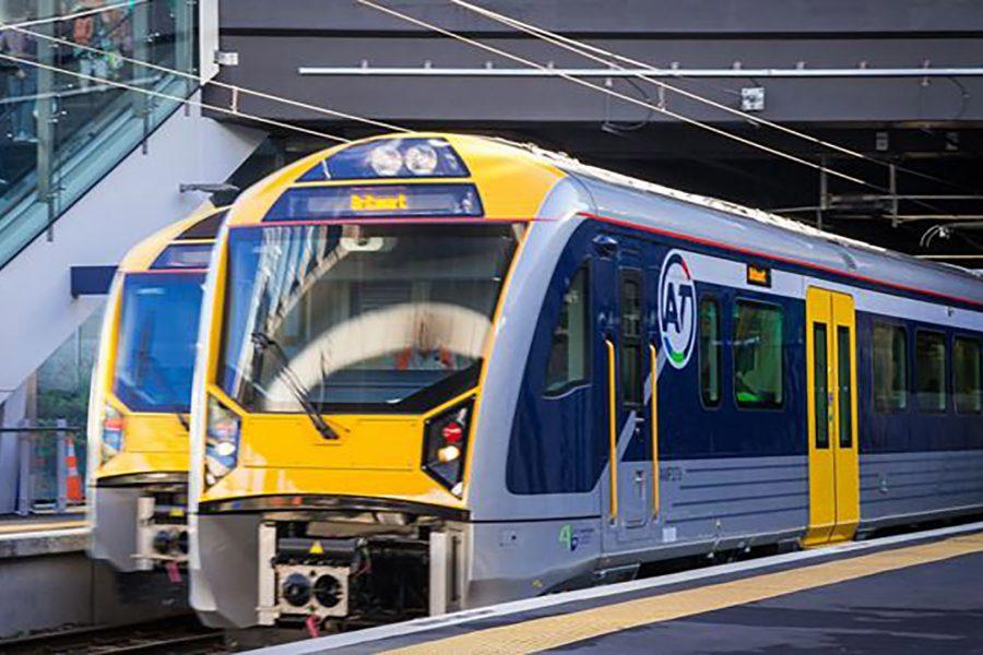 Auckland Trainstation