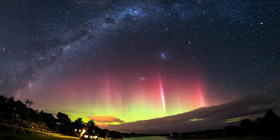 Aurora Australis, New Zealand @The Good South