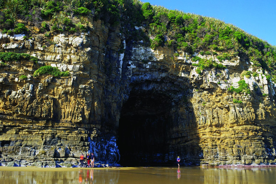 Cathedral Caves, New Zealand @Southland, New Zealand