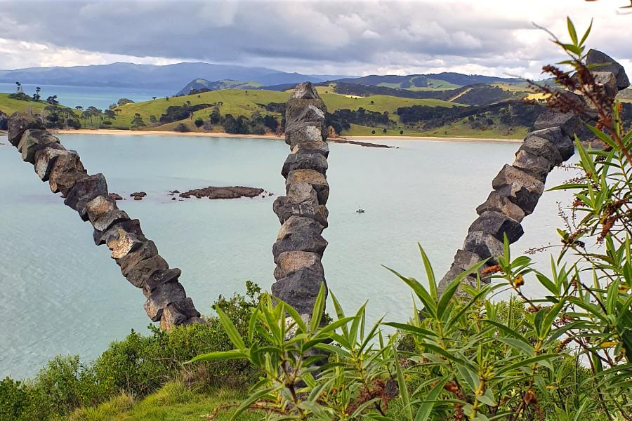 Chris Booth Sculpture,New Zealand
