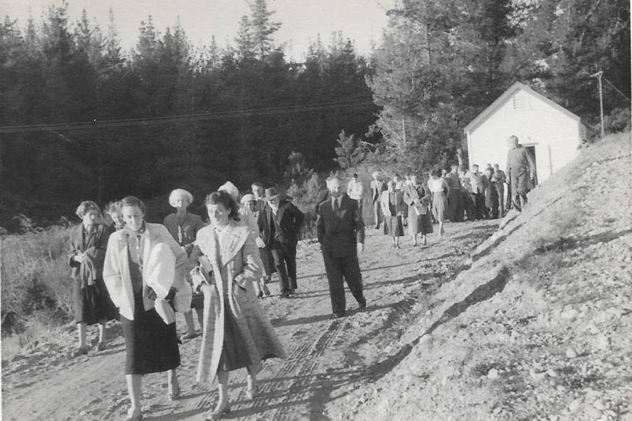 Christian Pacifist Society Conference in Riverside Community (Braeburn Hall), June 1959 @RiversideCommunityNZ