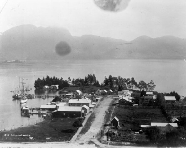Collingwood between 1886-1891 @National Library of New Zealand