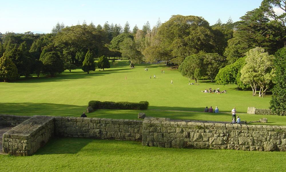 Cornwall Park, Auckland, New Zealand @Wikimedia Commons
