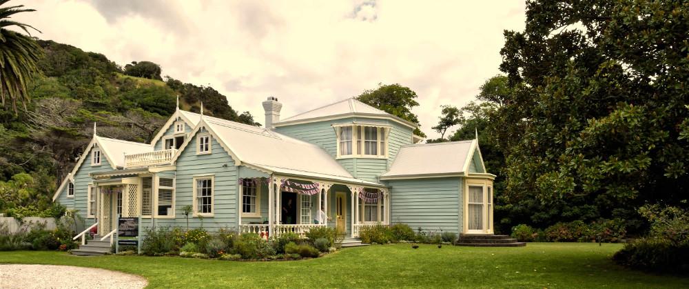 Couldrey House Garden, Wenderholm Regional Park, Auckland