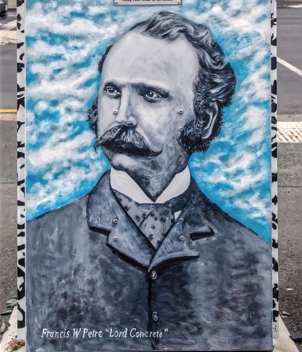 Dunedin street art, New Zealand