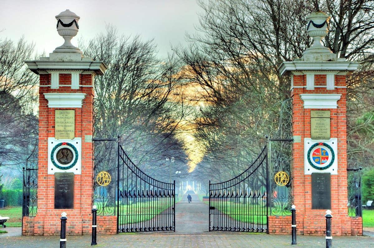 Feldwick Memorial Gates to Queen Park, New Zealand @Trip