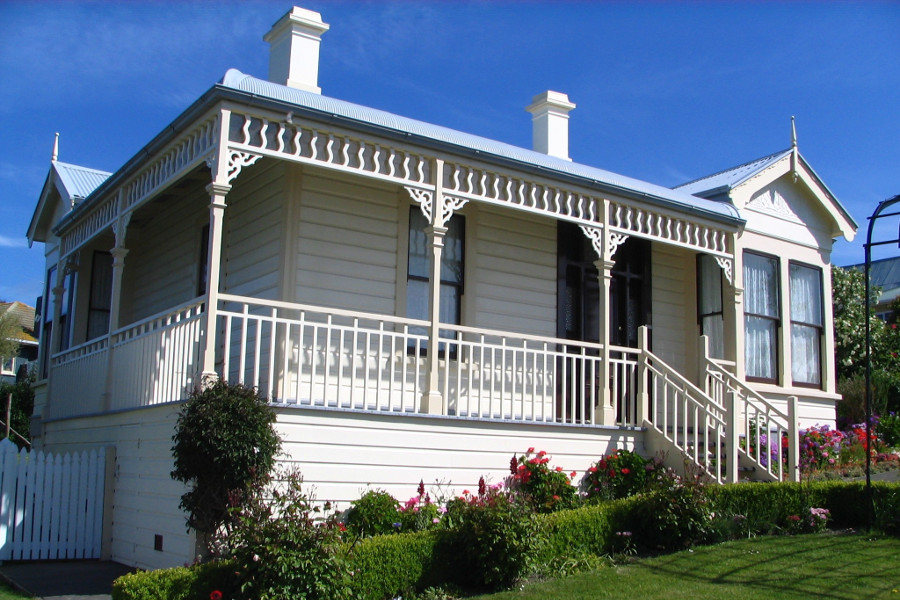 Fletcher House, New Zealand @Wikimedia Commons