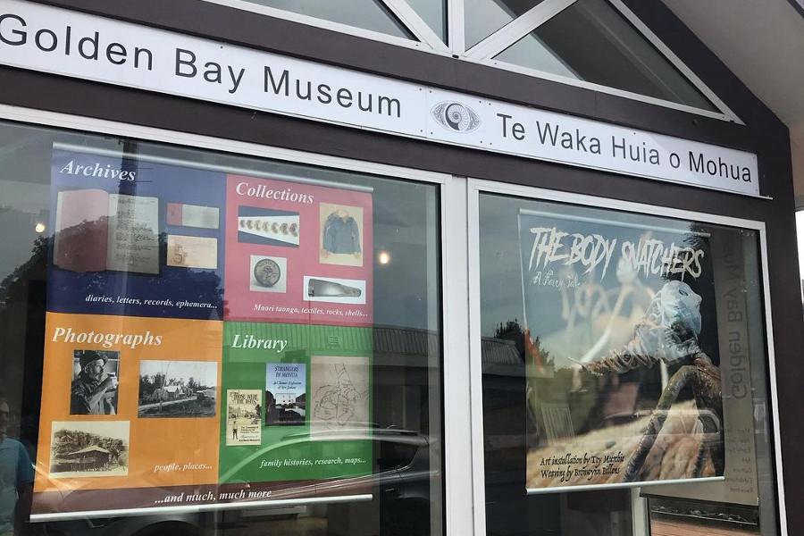Golden Bay Museum, New Zealand @lynleycrosswellmuseumsvictoria