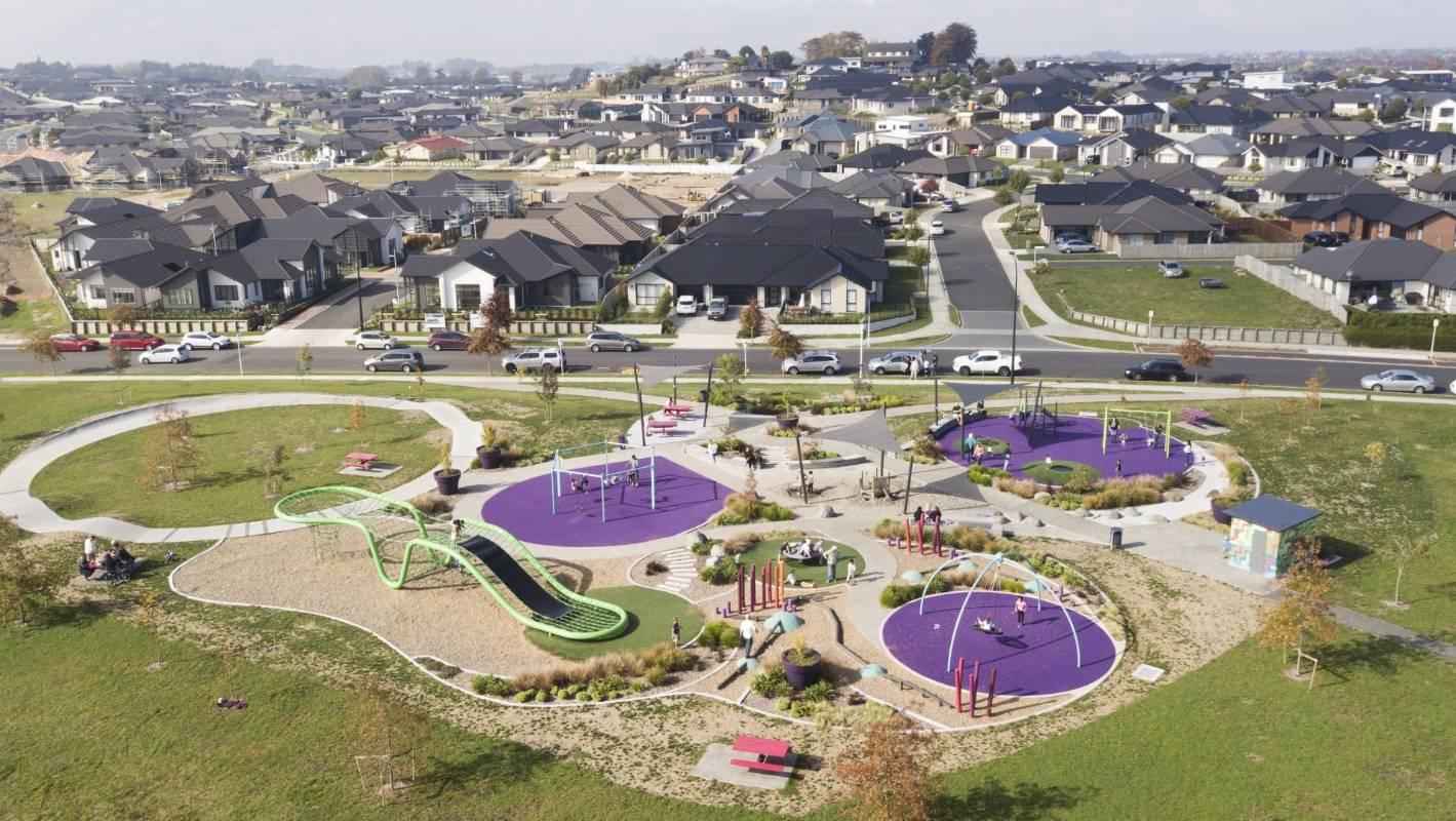 Hamilton Hare Puke Park playground, New Zealand @Stuff