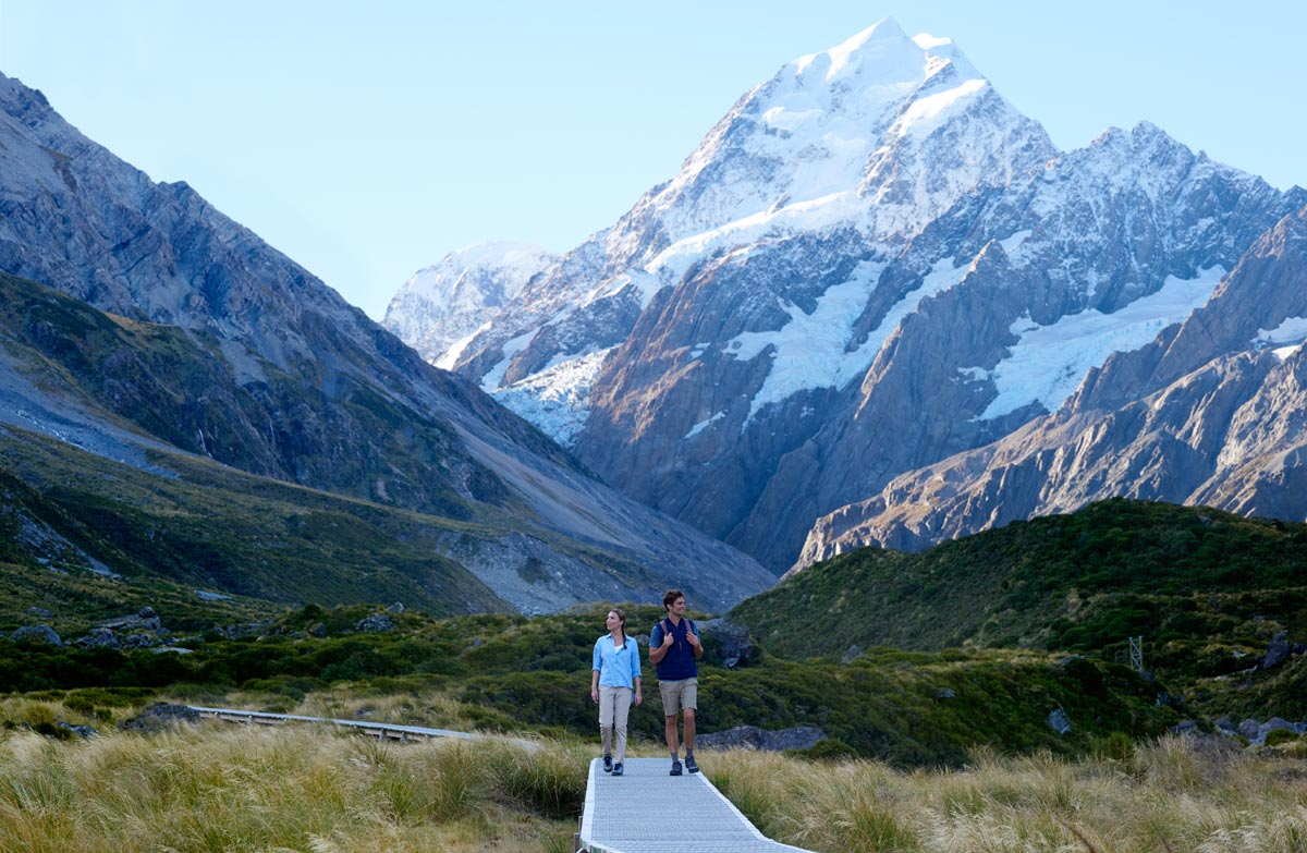 Hooker Valley Track, New Zealand @Department of Conservation