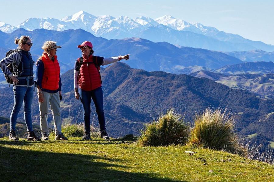 Kaikoura mountains, New Zealand @kaikouracoasttracknz