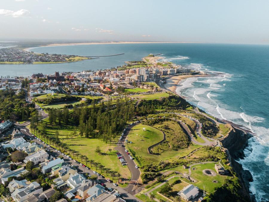 King Edward Park, New Zealand @Visit Newcastle