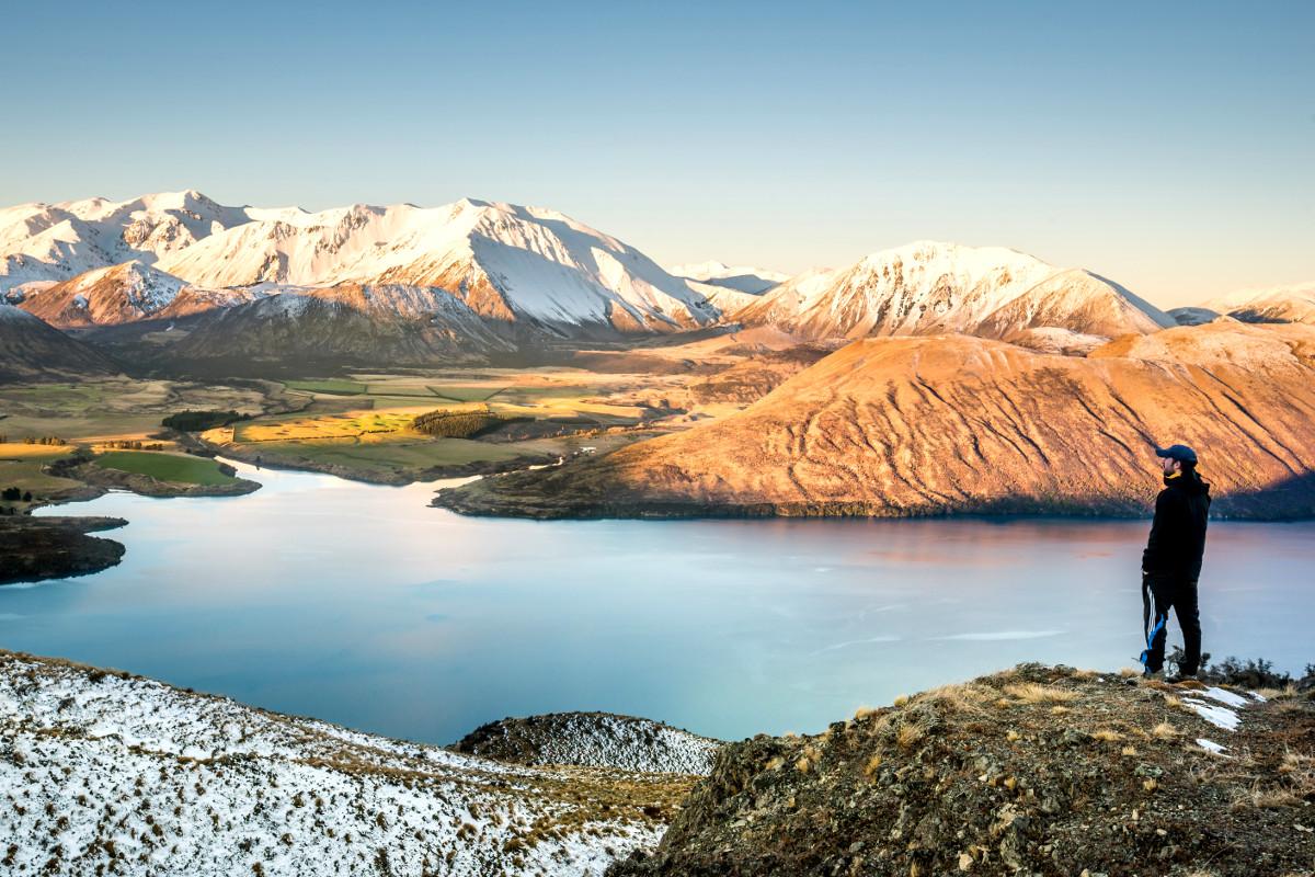 Lake Coleridge, New Zealand