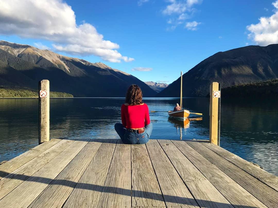Lake Rotoroa, New Zealand @sariiinn7