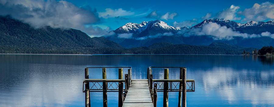 Lake Te Anau area, New Zealand @Southland, New Zealand
