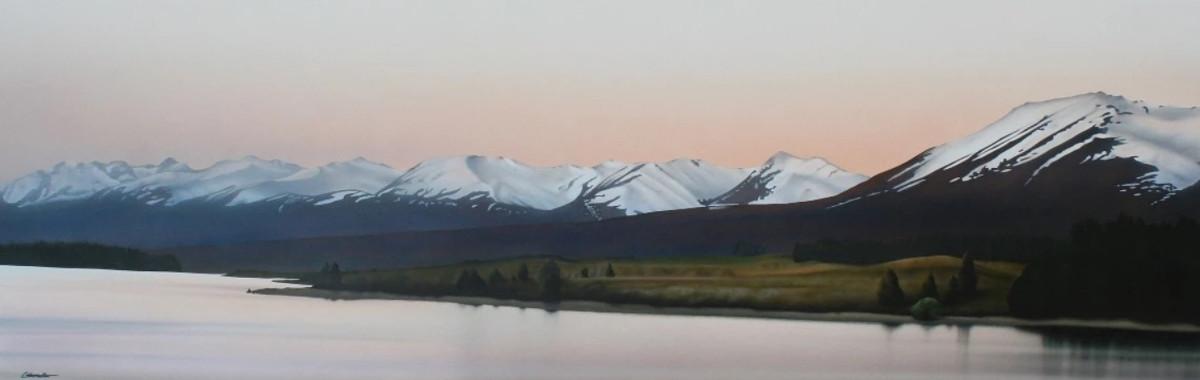 Lake Tekapo to Two Thumb Range @colinunkovich