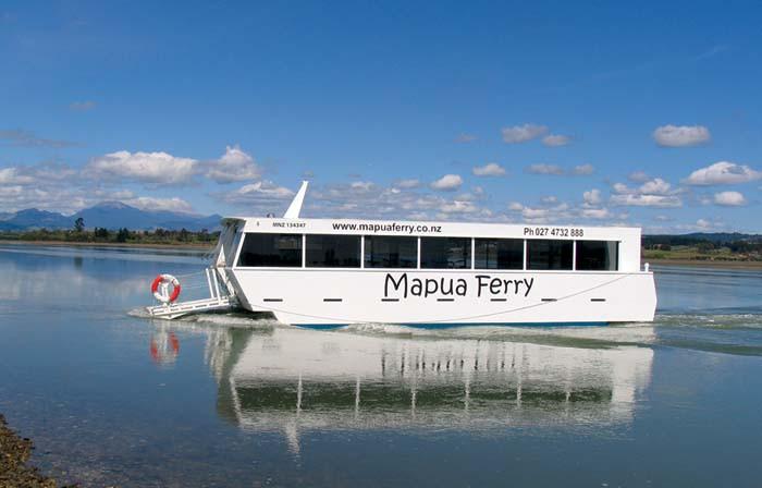 Mapua Ferry, New Zealand @Nelson Bays Holiday Homes1