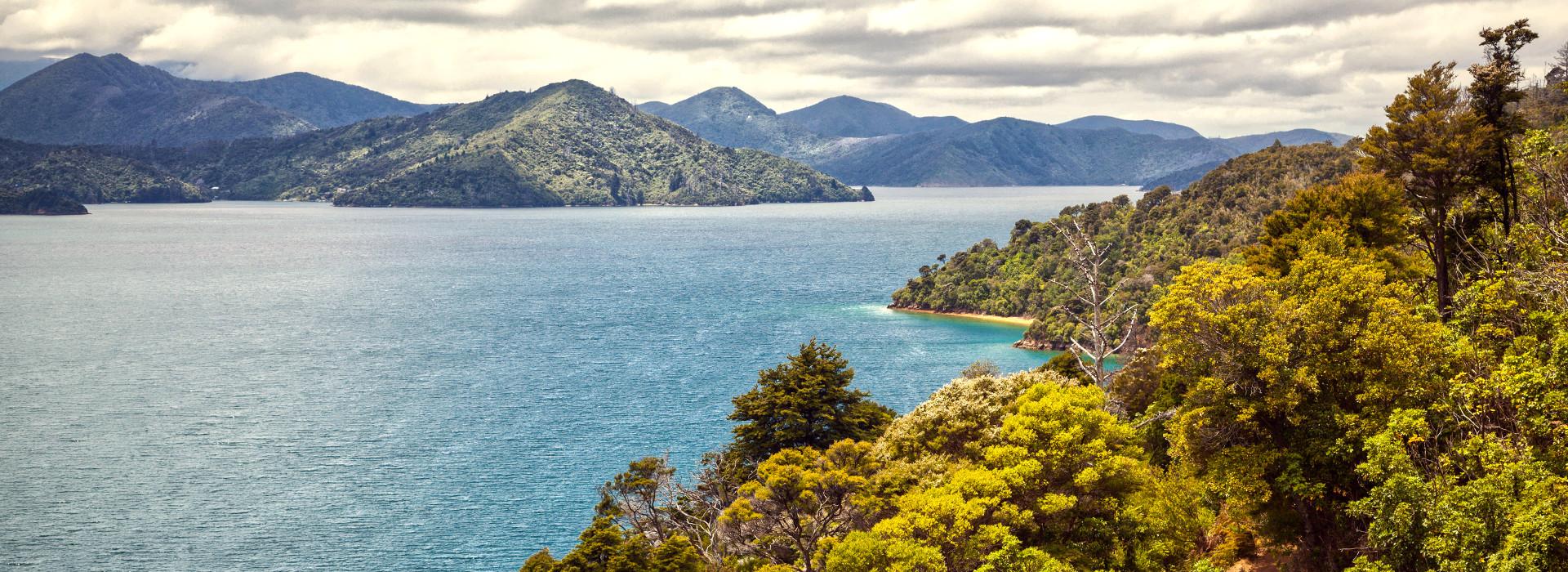 Marlborough Sounds South Island New Zealand