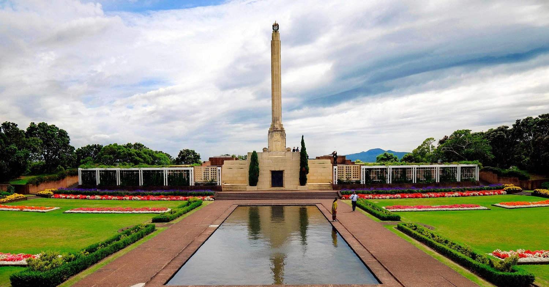 Savage Memorial Park Auckland New Zealand, NZ, North Island