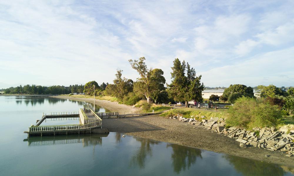 Motueka Saltwater Baths Attractions, New Zealand @Nelson Tasman
