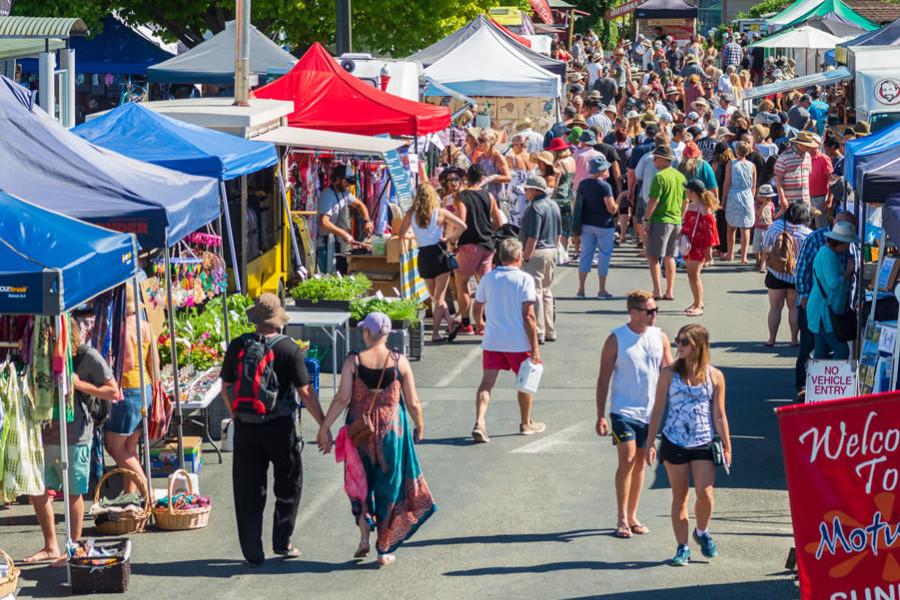 Motueka Sunday Market, New Zealand @Timaru Local