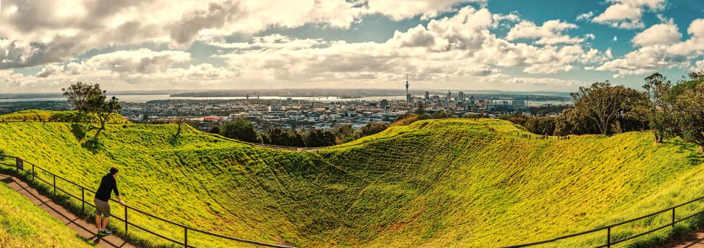 Mount Eden summit, New Zealand