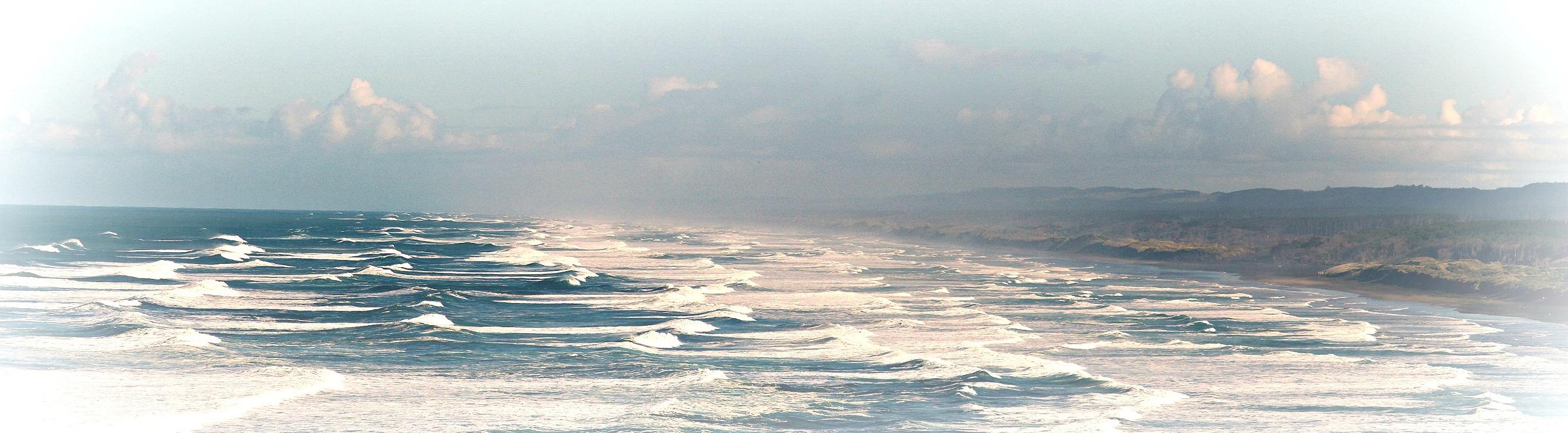 Muiwai iron sands, sea to sky, West Auckland, New Zealand
