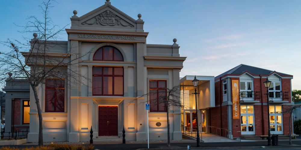 Nelson Centre of Musical Arts, New Zealand @NelsonTasman