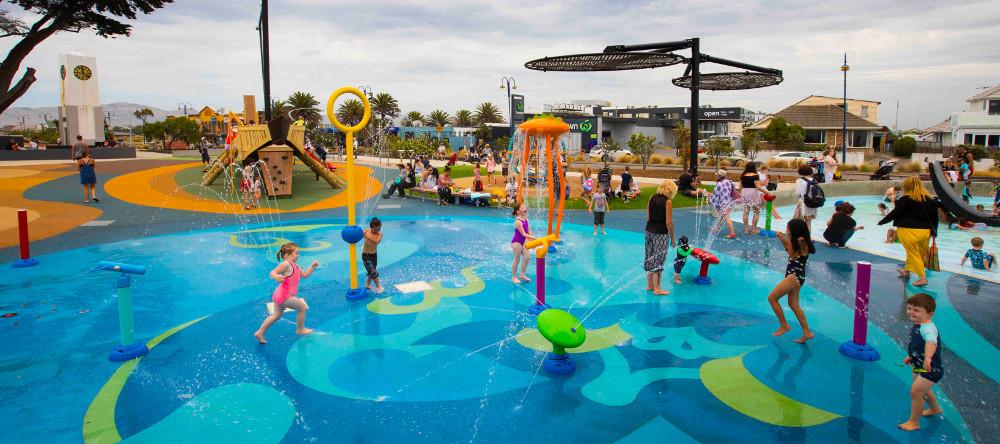 New Brighton Beachside Playground, Christchurch, New Zealand @newsline