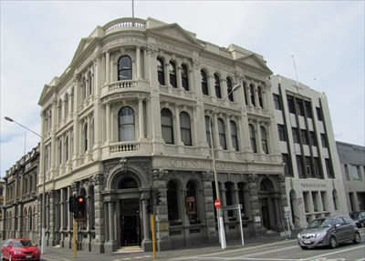 New Zealand Insurance Company Building, Dunedin, New Zealand @Waymarking