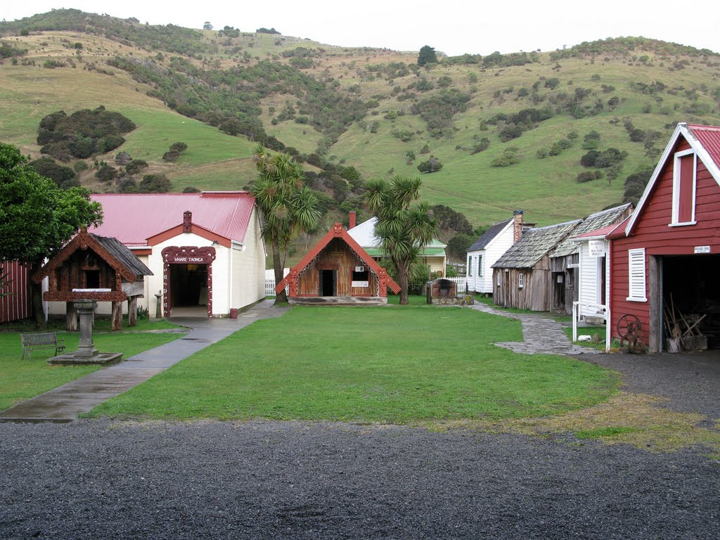 Okains Bay Māori and Colonial Museum, Akaroa, New Zealand @Travel Notes