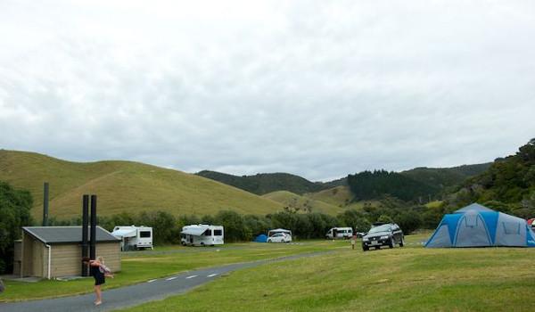 Otamure Bay (Whananaki) campsite @Seth Smigelski