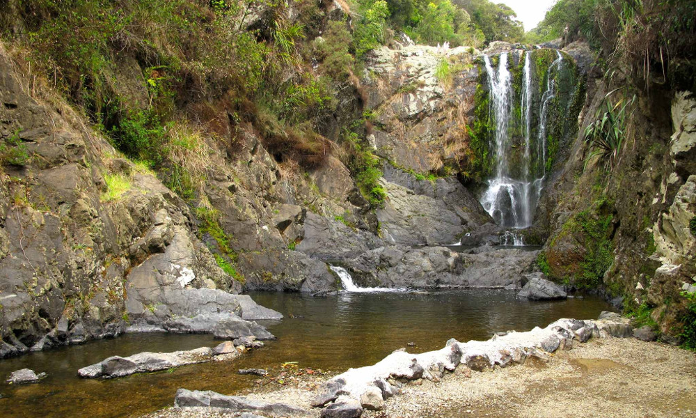Piroa Falls @Nz Frenzy North Island, New Zealand