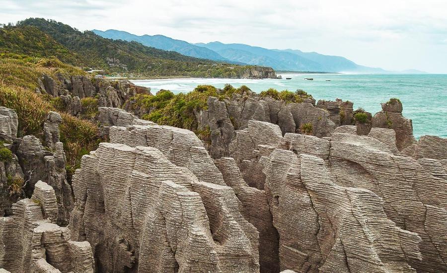 Punakaiki Pancake Rocks and Blowholes Walk @Martin Tychtl