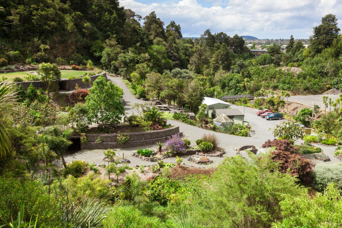 Quarry Gardens, Whangarei, New Zealand