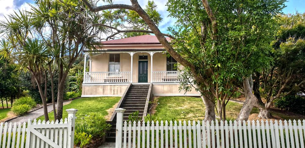 Scandrett historic homestead Scandrett Regional Park Auckland, New Zealand