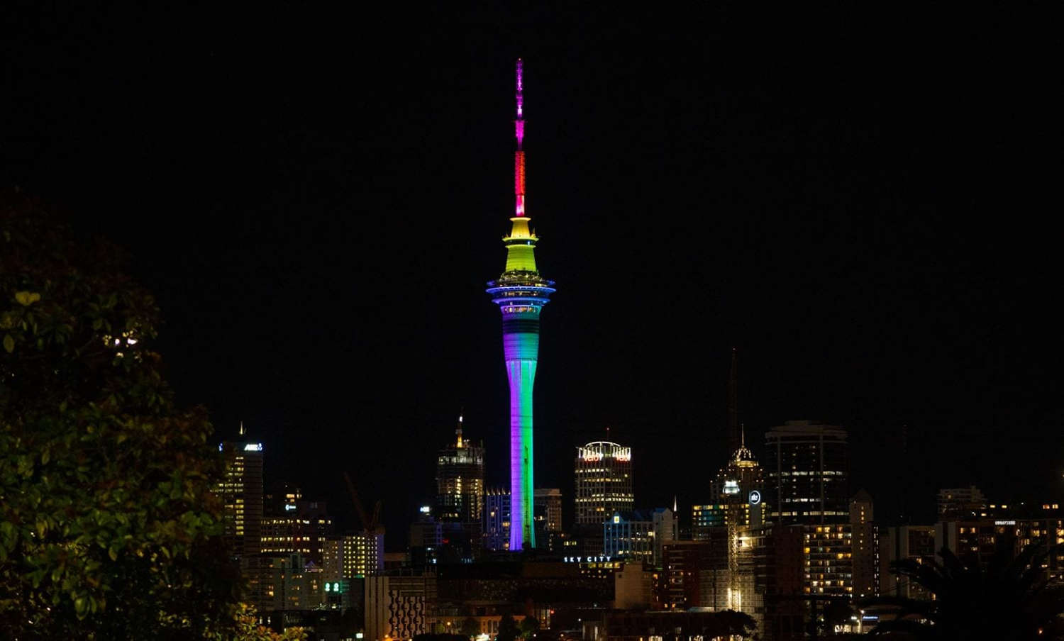 Sky Tower,Auckland,New Zealand @Auckland for Kids