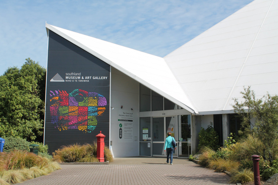 Southland Museum & Art Gallery, New Zealand @Otago images, Otago daily times