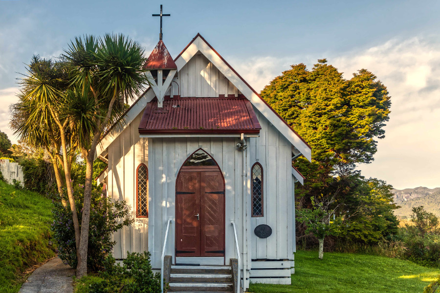 St Cuthbert's Anglican Church, designed by Thomas Brunner and built in 1873. It is the oldest surviving building in Collingwood.