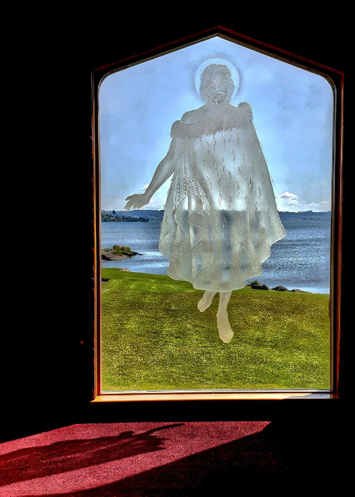 St Faith's church, Christ's Maori persona