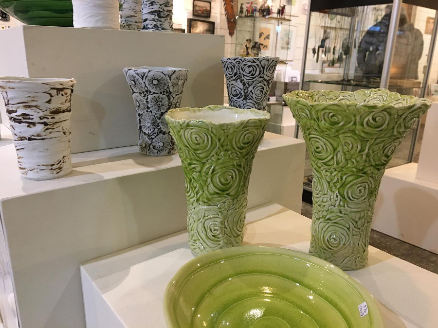 Sue Newitt Pottery @The Coolstore Gallery