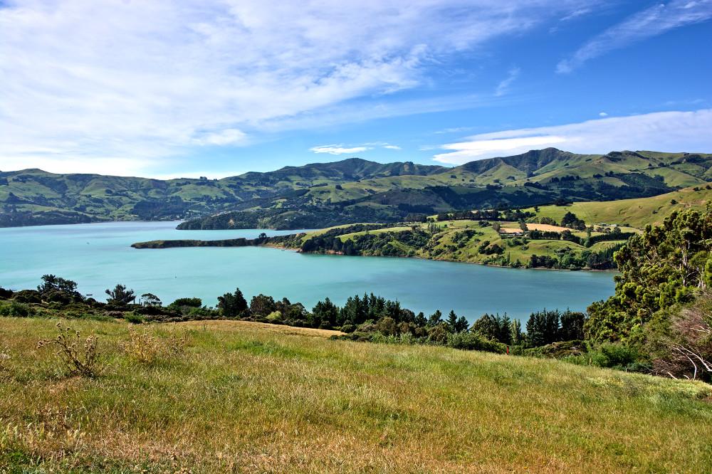 Takamatua Bay, Akaroa, New Zealand @Tomas Sobek