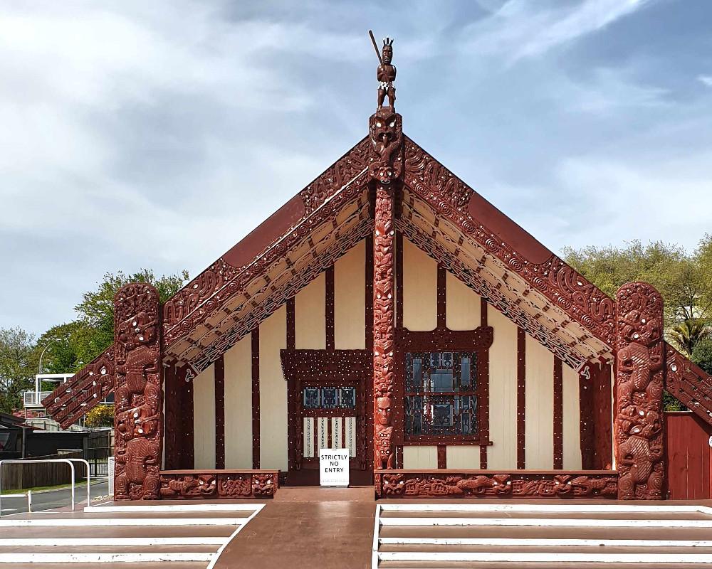 Tamatekapua meeting house, New Zealand