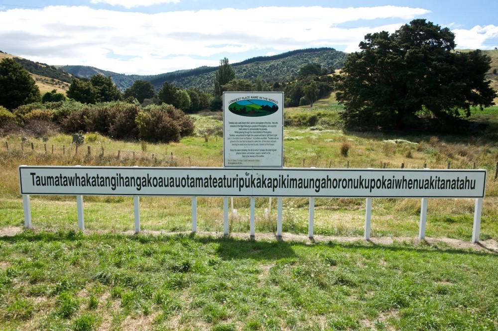 Taumata Hill, New Zealand @The telegraph