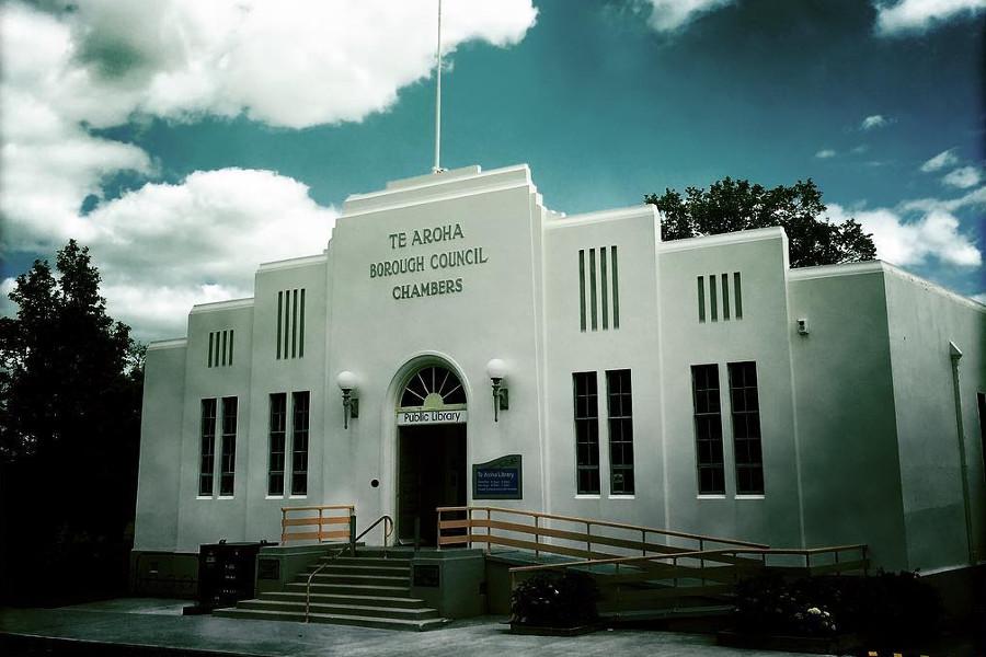 Te Aroha Borough Council Chambers, New Zealand @tourismmedia